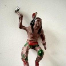 Figuras de Goma y PVC: FIGURA INDIO LAFREDO GOMA. Lote 287374668