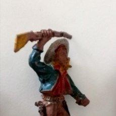 Figuras de Goma y PVC: FIGURA VAQUERO LAFREDO GOMA. Lote 287375043