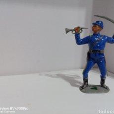Figuras de Goma y PVC: JECSAN DOS BANDERAS. Lote 287402223