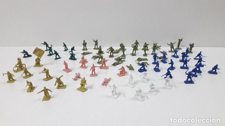 Figuras de Goma y PVC: EJERCITOS MONTAPLEX . YUGOSLAVOS - AMERICANOS - FRANCESES - CHINOS ...Y MAS . ORIGINAL AÑOS 70 / 80 - Foto 10 - 287663253