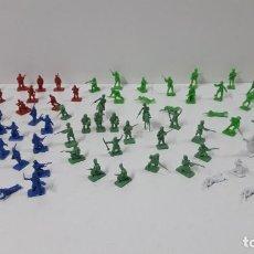 Figuras de Goma y PVC: EJERCITOS MONTAPLEX . ESCOCESES - RUSIA DEL ZAR - LEGION ....Y MAS . ORIGINAL AÑOS 70 / 80. Lote 287664378
