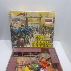 Figuras de Goma y PVC: FUERTE FORT FEDERAL COMANSI. Lote 287667418