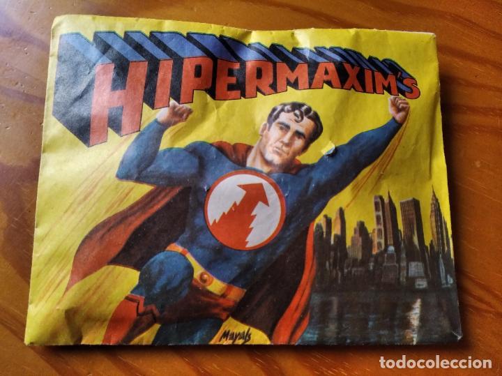 HIPERMAXIM'S - SOBRE SIN ABRIR AÑOS 70 - SUPERMAN BOOTLEG SPAIN. (Juguetes - Figuras de Goma y Pvc - Montaplex)