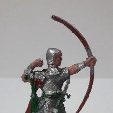 Figuras de Goma y PVC: GUERRERO MEDIEVAL - ARQUERO . REALIZADO POR LAFREDO . SERIE PEQUEÑA . AÑOS 60. Lote 287682993