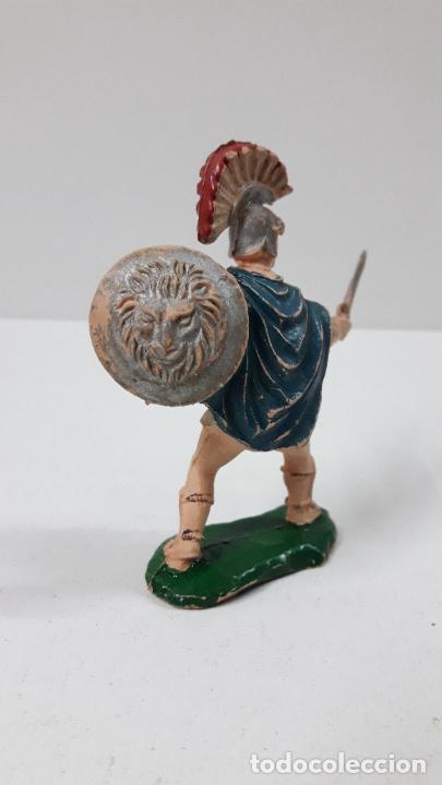 Figuras de Goma y PVC: GLADIADOR . REALIZADO POR LAFREDO . SERIE GLADIADORES . ORIGINAL AÑOS 50 EN GOMA - Foto 3 - 287732488