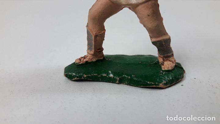Figuras de Goma y PVC: GLADIADOR . REALIZADO POR LAFREDO . SERIE GLADIADORES . ORIGINAL AÑOS 50 EN GOMA - Foto 4 - 287732488
