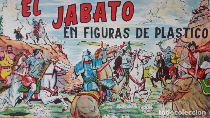 Figuras de Goma y PVC: TAPA ORIGINAL DE LA CAJA DEL JABATO . REALIZADA POR ESTEREOPLAST - CONCESION BRUGUERA S.A. . AÑOS 60 - Foto 2 - 287750353