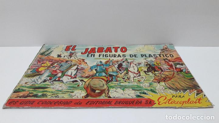 Figuras de Goma y PVC: TAPA ORIGINAL DE LA CAJA DEL JABATO . REALIZADA POR ESTEREOPLAST - CONCESION BRUGUERA S.A. . AÑOS 60 - Foto 5 - 287750353