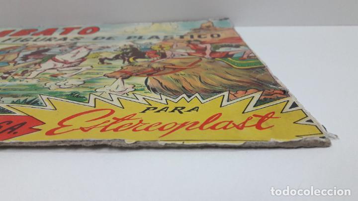 Figuras de Goma y PVC: TAPA ORIGINAL DE LA CAJA DEL JABATO . REALIZADA POR ESTEREOPLAST - CONCESION BRUGUERA S.A. . AÑOS 60 - Foto 6 - 287750353