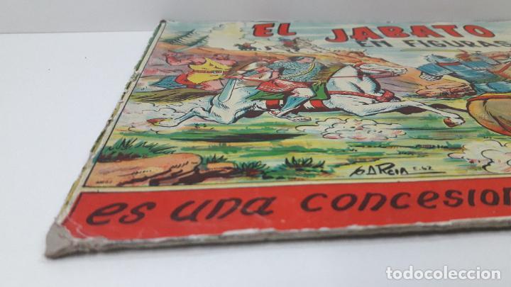 Figuras de Goma y PVC: TAPA ORIGINAL DE LA CAJA DEL JABATO . REALIZADA POR ESTEREOPLAST - CONCESION BRUGUERA S.A. . AÑOS 60 - Foto 7 - 287750353