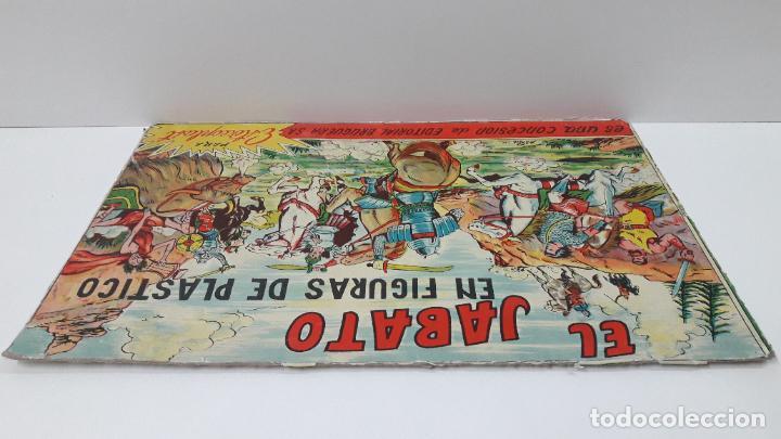 Figuras de Goma y PVC: TAPA ORIGINAL DE LA CAJA DEL JABATO . REALIZADA POR ESTEREOPLAST - CONCESION BRUGUERA S.A. . AÑOS 60 - Foto 8 - 287750353