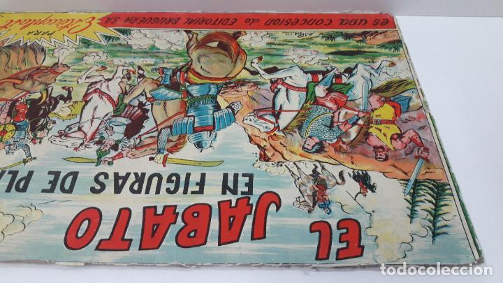 Figuras de Goma y PVC: TAPA ORIGINAL DE LA CAJA DEL JABATO . REALIZADA POR ESTEREOPLAST - CONCESION BRUGUERA S.A. . AÑOS 60 - Foto 9 - 287750353