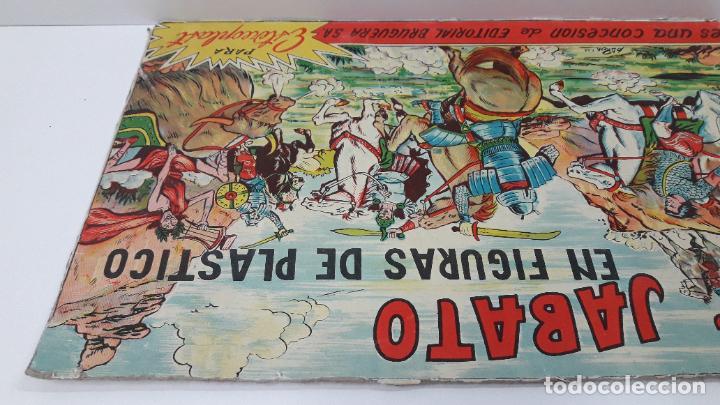 Figuras de Goma y PVC: TAPA ORIGINAL DE LA CAJA DEL JABATO . REALIZADA POR ESTEREOPLAST - CONCESION BRUGUERA S.A. . AÑOS 60 - Foto 10 - 287750353