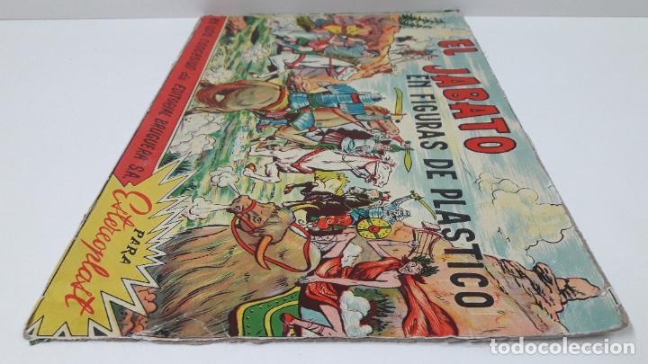 Figuras de Goma y PVC: TAPA ORIGINAL DE LA CAJA DEL JABATO . REALIZADA POR ESTEREOPLAST - CONCESION BRUGUERA S.A. . AÑOS 60 - Foto 12 - 287750353