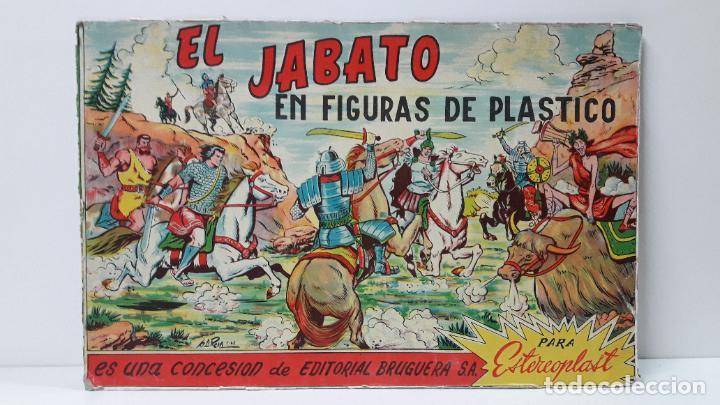 Figuras de Goma y PVC: TAPA ORIGINAL DE LA CAJA DEL JABATO . REALIZADA POR ESTEREOPLAST - CONCESION BRUGUERA S.A. . AÑOS 60 - Foto 16 - 287750353