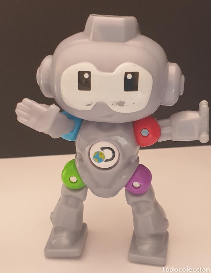 Figuras de Goma y PVC: 2 figuras de Robots Mindblown Discovery Mc Donalds 2019 articulado y fijo - Foto 2 - 287874663