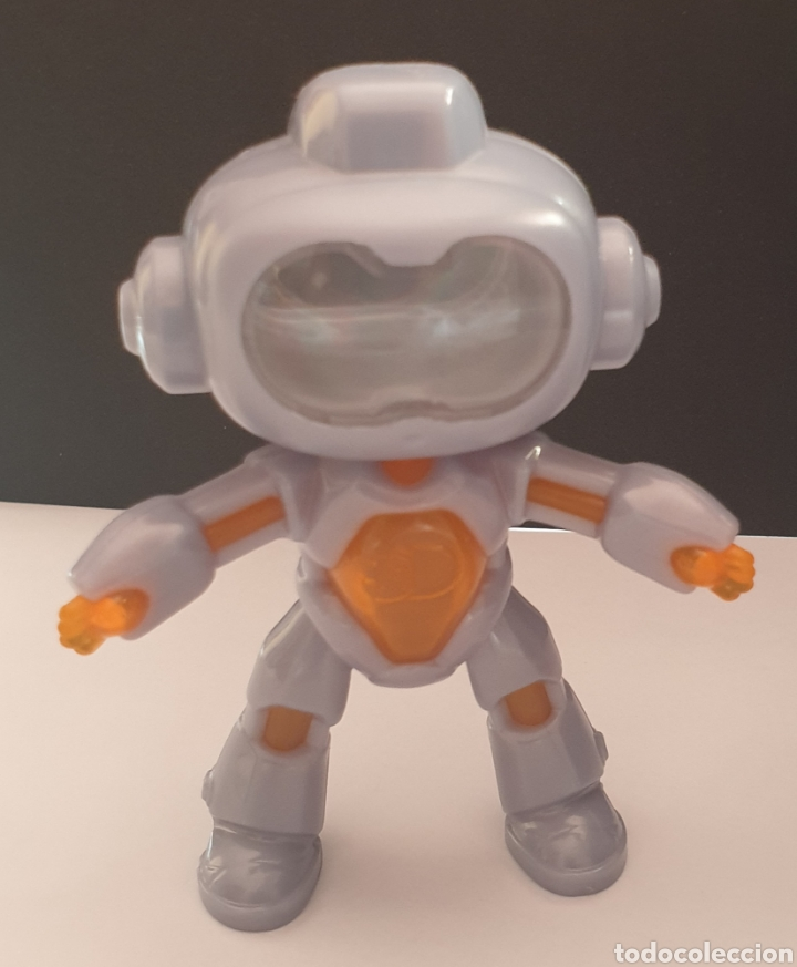 Figuras de Goma y PVC: 2 figuras de Robots Mindblown Discovery Mc Donalds 2019 articulado y fijo - Foto 5 - 287874663