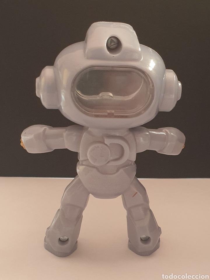 Figuras de Goma y PVC: 2 figuras de Robots Mindblown Discovery Mc Donalds 2019 articulado y fijo - Foto 6 - 287874663