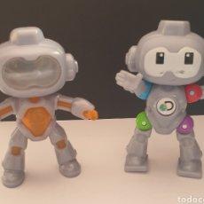 Figuras de Goma y PVC: 2 FIGURAS DE ROBOTS MINDBLOWN DISCOVERY MC DONALD'S 2019 ARTICULADO Y FIJO. Lote 287874663