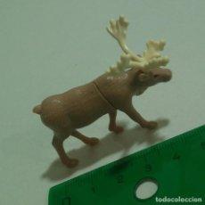 Figurines en Caoutchouc et PVC: RENO ALCE KINDER ANIMAL NATOONS NATOON REALISTA MUÑECO FIGURA SALVAJE. Lote 287902883