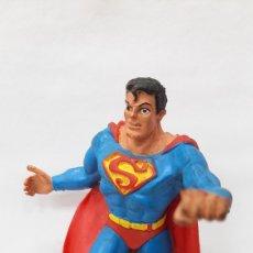 Figuras de Goma y PVC: SUPERMAN FIGURA GOMA COMIC SPAIN AÑO 1988. Lote 287904278