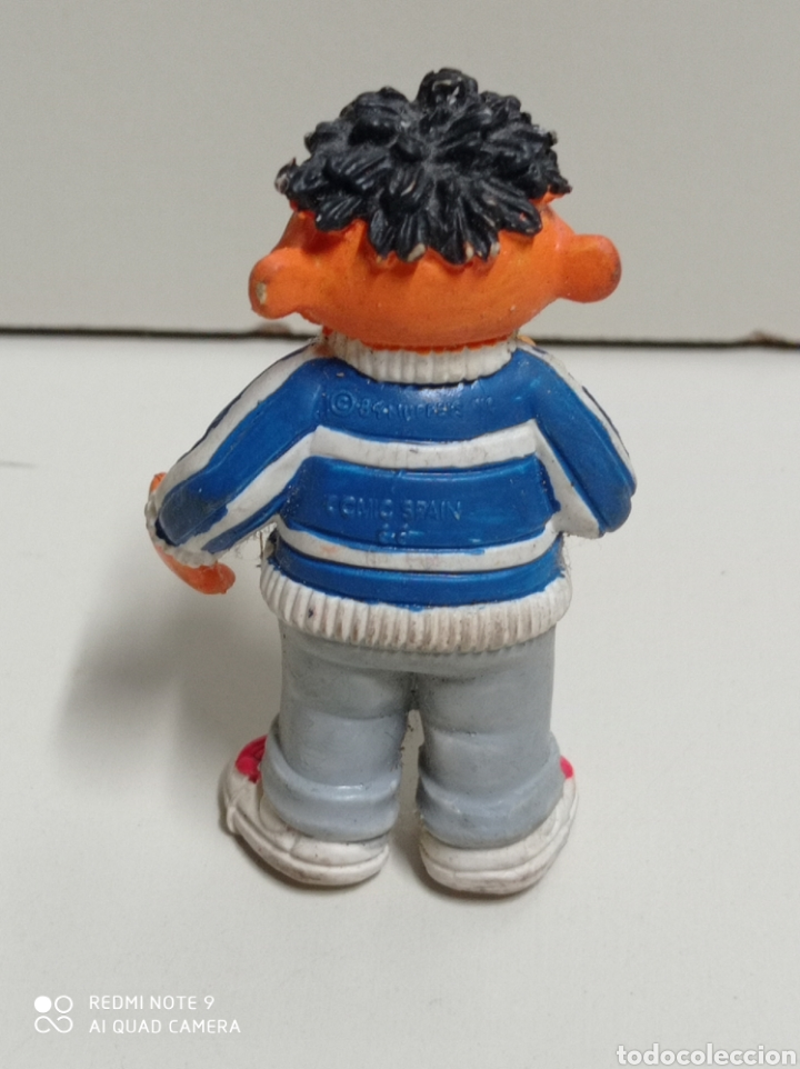 Figuras de Goma y PVC: Epi de barrio sésamo de goma, cómic spain, casi 7 cm. Necesita limpieza. - Foto 2 - 287947158