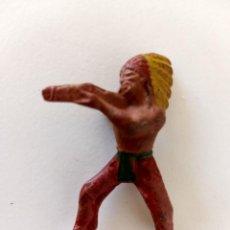 Figuras de Goma y PVC: FIGURA INDIO REAMSA GOMA. Lote 287947353