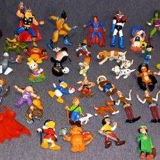 Figuras de Goma y PVC: LOTE BATIBURRILLO COMICS SPAIN DISNEY BULLY...50 FIGURAS. Lote 287975593