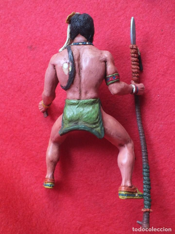 Figuras de Goma y PVC: INDIO A CABALLO COMANSI FIGURA AÑOS 90 MADE IN SPAIN - Foto 7 - 288074453