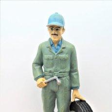 Figuras de Goma y PVC: FIGURA EN GOMA /PVC DE MECANICO DE COCHES.. Lote 288106733