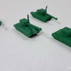 Figuras de Goma y PVC: LOTE DE TANQUES MONTAPLEX . ORIGINAL AÑOS 70 / 80. Lote 288209843