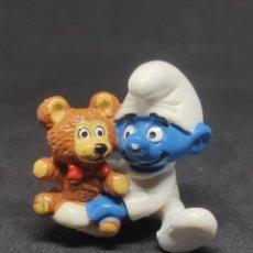 Figuras de Goma y PVC: PITUFO BEBE OSITO CARA CLARA - SCHLEICH - PEYO 84. Lote 288221883