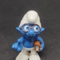 Figuras de Goma y PVC: PITUFO FILOSOFO - SCHLEICH - PEYO 10. Lote 288222683