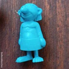 Figuras de Goma y PVC: FIGURA DE DUNKIN DE ASTERIX : OBRERO EGIPCIO AZUL. Lote 288303568