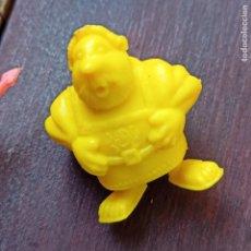 Figuras de Goma y PVC: FIGURA DUNKIN DE ASTÉRIX Y OBELIX. PERSONAJE CATADOR DE LA SERIE EGIPCIOS. DARGAUD AMARILLO.. Lote 288303753