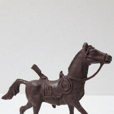 Figuras de Goma y PVC: CABALLO PARA VAQUERO - SOLDADO . REALIZADO POR COMANSI . AÑOS 70. Lote 288369218