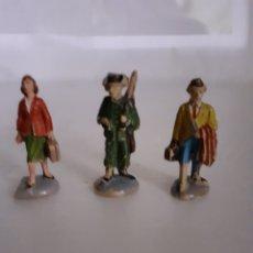 Figuras de Goma y PVC: JECSAN FIGURAS ESTACION GOMA PEQUEÑAS. Lote 288374998