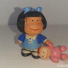 Figuras de Goma y PVC: COMICS SPAIN : ANTIGUA FIGURA DE GOMA MAFALDA QUINO AÑOS 80. Lote 288464828