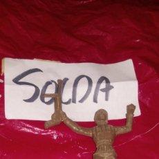 Figuras de Goma y PVC: SOLDADO COMANSI ALEMÁN 1052 COMPLETO MARRON. Lote 288577928