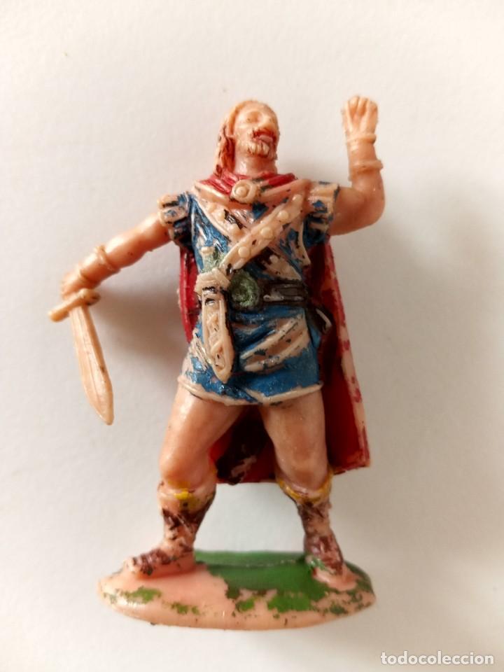 FIGURA VIKINGO AÑOS 60 JECSAN (Juguetes - Figuras de Goma y Pvc - Jecsan)