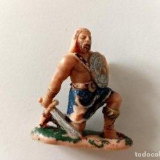 Figuras de Goma y PVC: FIGURA VIKINGO AÑOS 60 JECSAN. Lote 288580503