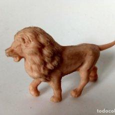 Figuras de Goma y PVC: FIGURA LEON PLÁSTICO TAMAÑO ARCLA. Lote 288580658