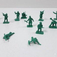 Figuras de Goma y PVC: LOTE DE SOLDADITOS MONTAPLEX - AMERICANOS . AÑOS 70 / 80. Lote 288597508