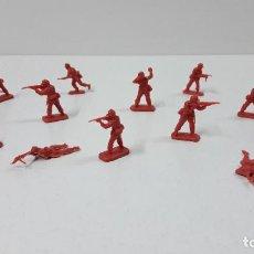 Figuras de Goma y PVC: LOTE DE SOLDADITOS MONTAPLEX - CHINOS . AÑOS 70 / 80. Lote 288597533