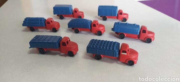 Figuras de Goma y PVC: Lote camiones montaplex CAMIONEROS EN RUTA - Foto 2 - 288668498