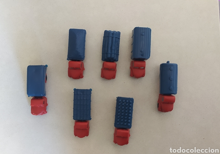Figuras de Goma y PVC: Lote camiones montaplex CAMIONEROS EN RUTA - Foto 3 - 288668498