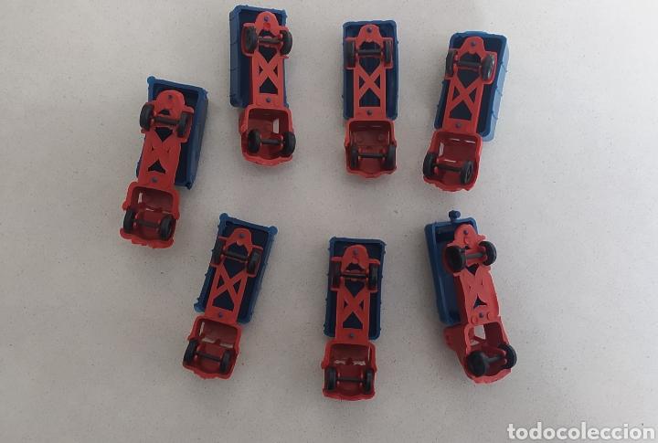 Figuras de Goma y PVC: Lote camiones montaplex CAMIONEROS EN RUTA - Foto 4 - 288668498