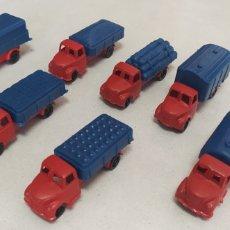 Figuras de Goma y PVC: LOTE CAMIONES MONTAPLEX CAMIONEROS EN RUTA. Lote 288668498