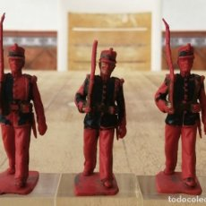 Figuras de Goma y PVC: SOLDADOS REAMSA GOMARSA SOLDIS, GUARDIA REAL. Lote 288673823