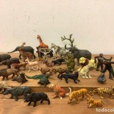 Figuras de Goma y PVC: GRAN LOTE CIRCO JECSAN FIGURAS ANIMALES Y FIERAS PECH LAFREDO TEIXIDO. Lote 288680763